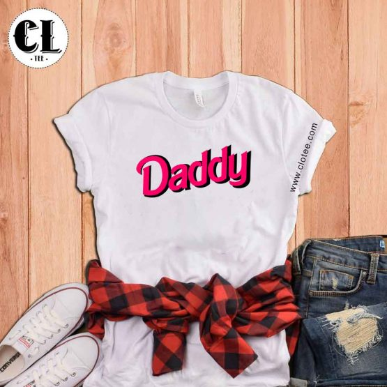 T-Shirt I Am Daddy's Little Girl men women round neck tee. Printed and delivered from USA or UK