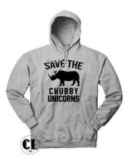 Chubby Unicorns Hoodie