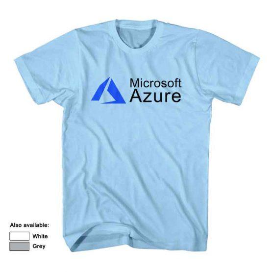 microsoft azure t shirt