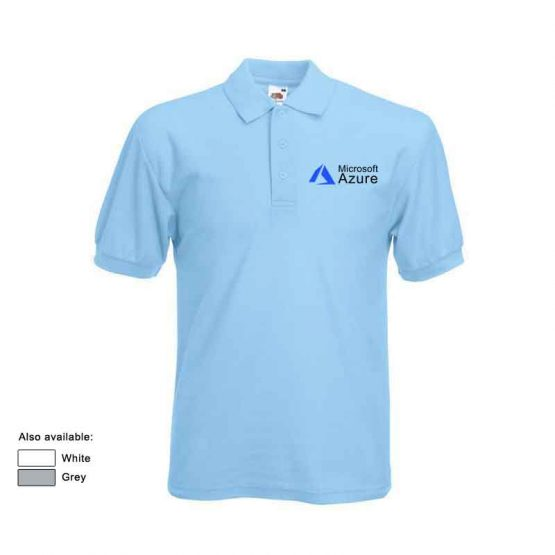 microsoft azure polo shirts