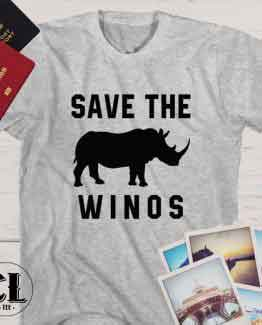 T-Shirt Save The Winos