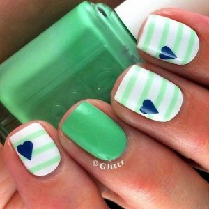 Cute Summer Nail Design. From clotee.com