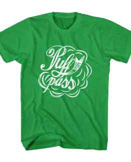 T-Shirt Puff Pass Typography by Clotee.com Typography, Lettering, Calligraphy Men Women Crew Neck Tee