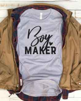 T-Shirt Boy Maker Mom Life