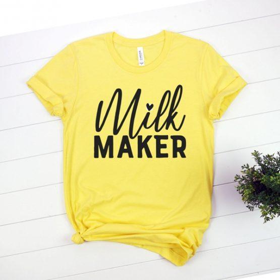 T-Shirt Milk Maker Mom Life by Clotee.com New Mom, Boy Mom, Cool Mom