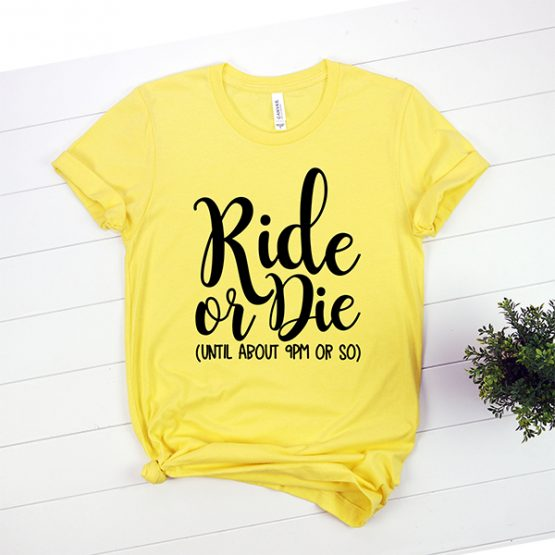 T-Shirt Ride or Die Mom Life by Clotee.com Mom Life, Funny Mom, Best Mom
