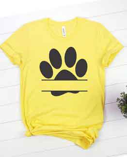 T-Shirt Zzz Paw Mono Pet Lover