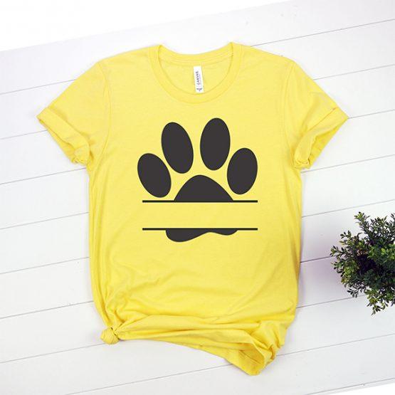 T-Shirt Zzz Paw Mono Pet Lover