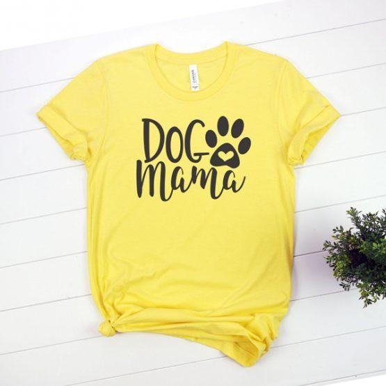 T-Shirt Dog Mama Pet Lover by Clotee.com Rescue Dog, Fur Mama, Dog Lover