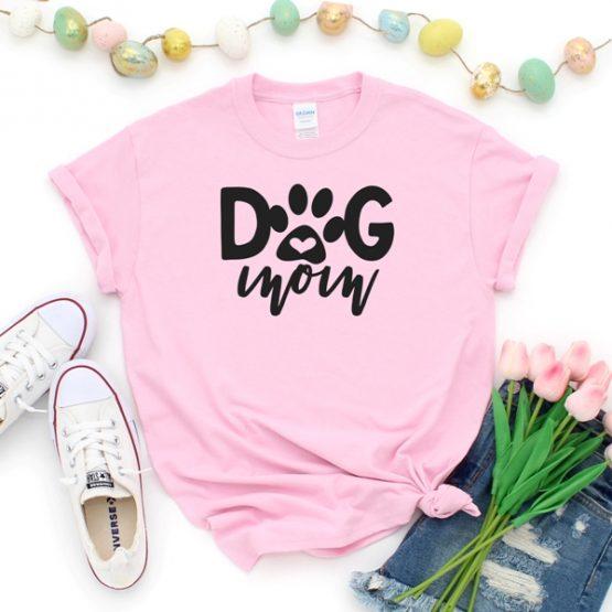 T-Shirt Dog Mom Pet Lover by Clotee.com Rescue Dog, Fur Mama, Dog Lover