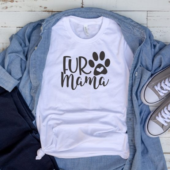 T-Shirt Fur Mama Pet Lover