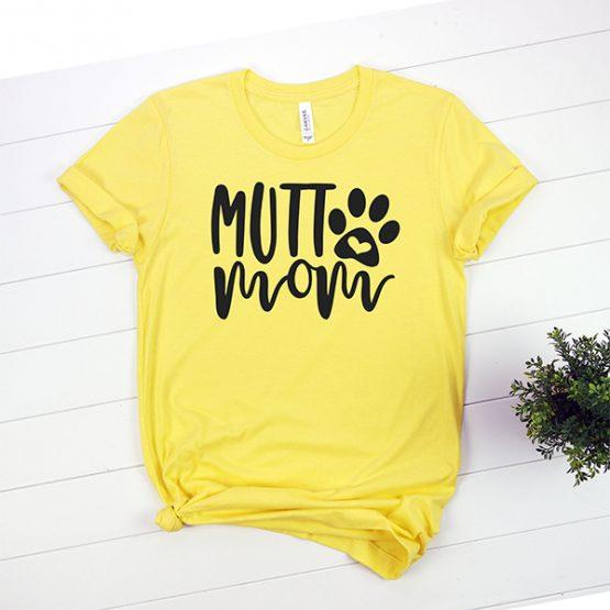 T-Shirt Mutt Mom Pet Lover