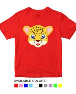 Tiger Toddler Kid Children T-Shirt Animal Head Toddler Children Tee. Printed and delivered from USA or UK.