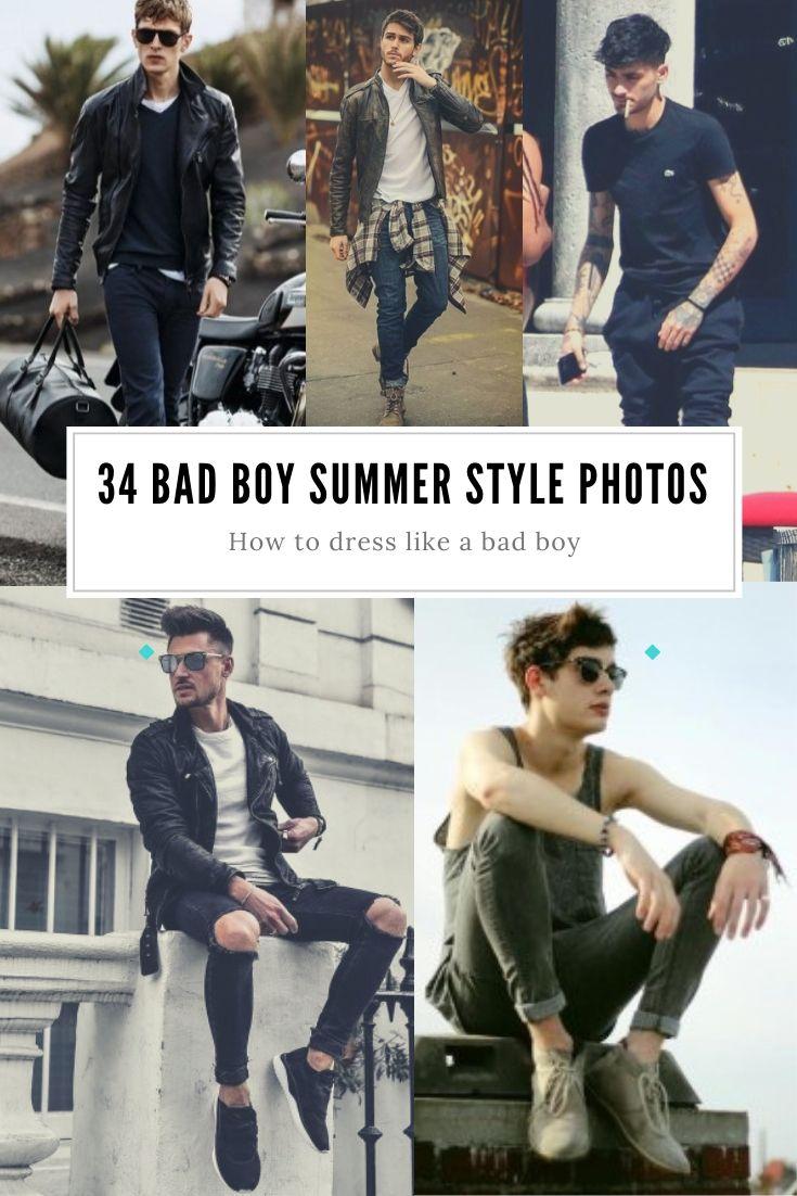 How To Dress Like A Bad Boy