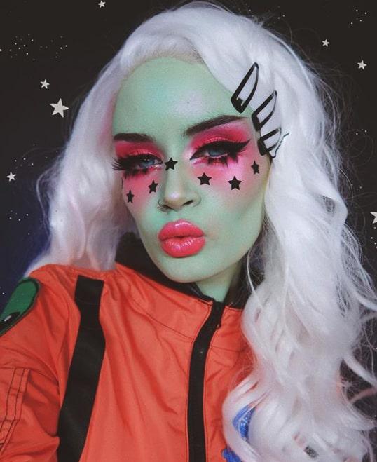alice space makeup halloween makeup ideas