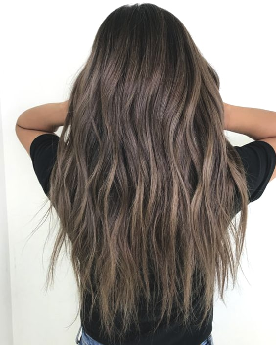 ash brunette hair color