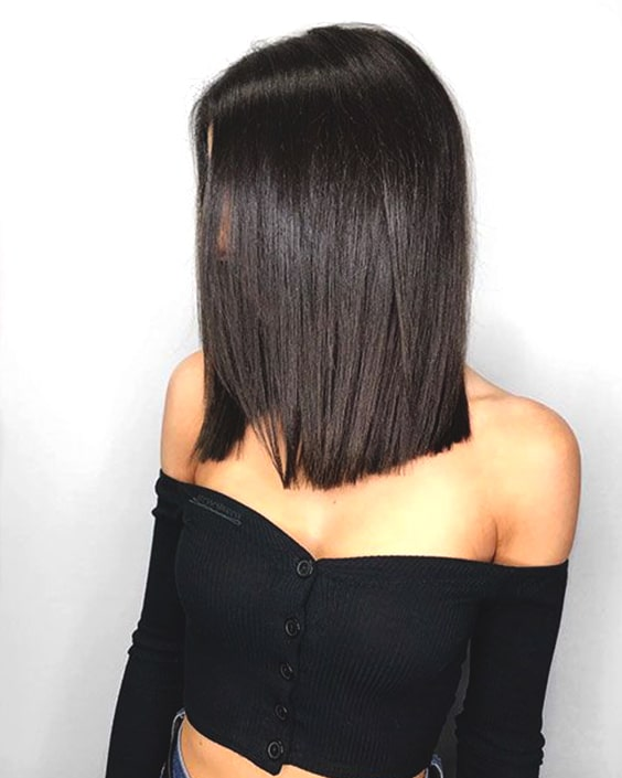 blunt long bob haircut trends fall