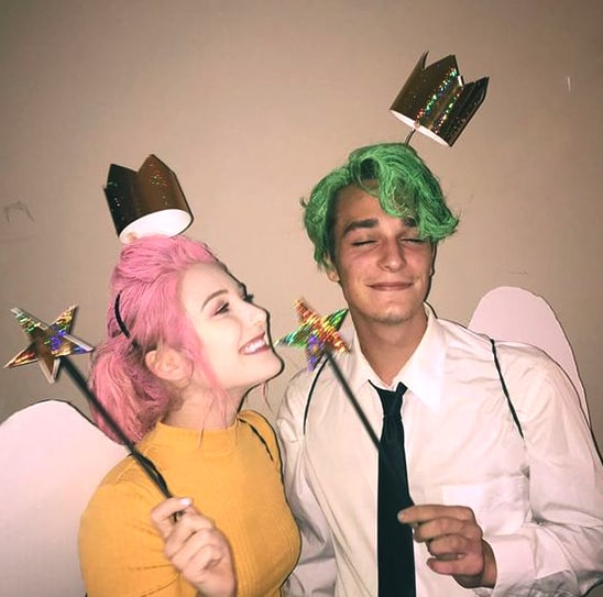 cosmo and wanda halloween costume idea for couples