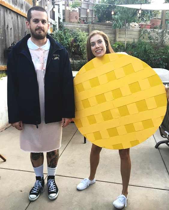 eleven stranger things halloween costume idea