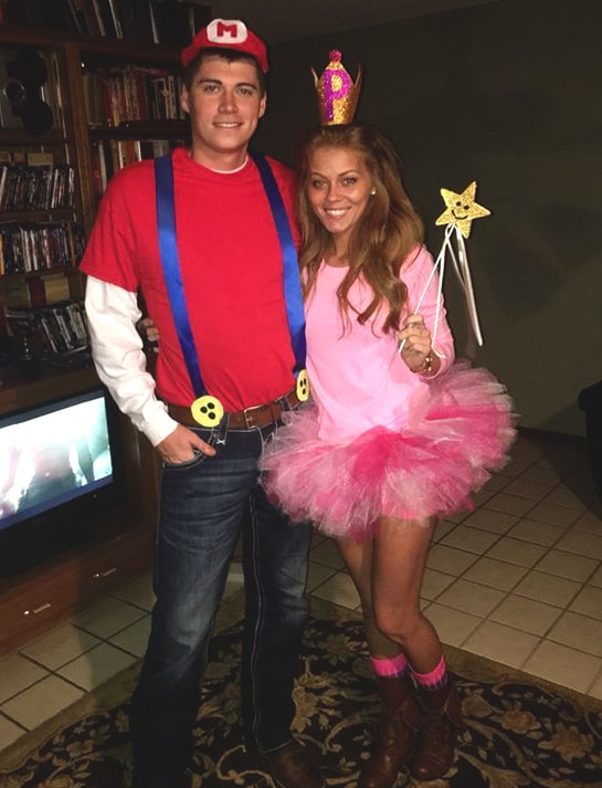 halloween costume ideas couples super mario