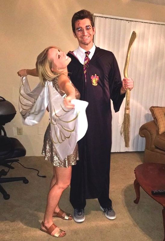 harry potter couple costume idea for halloween