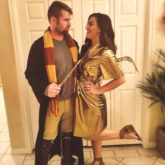 harry potter halloween costume idea for couples