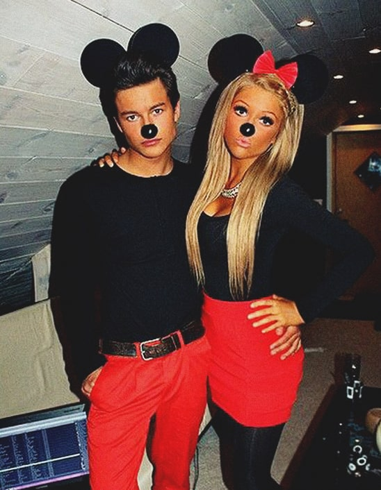 mickey and minnie halloween costume idea