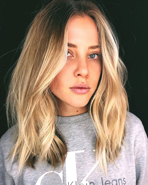 mid length haircut fall trends 2019