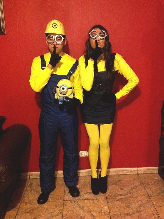 minion costume idea for couples