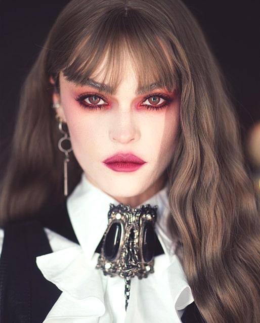 sexy spooky vampire makeup last minute halloween makeup