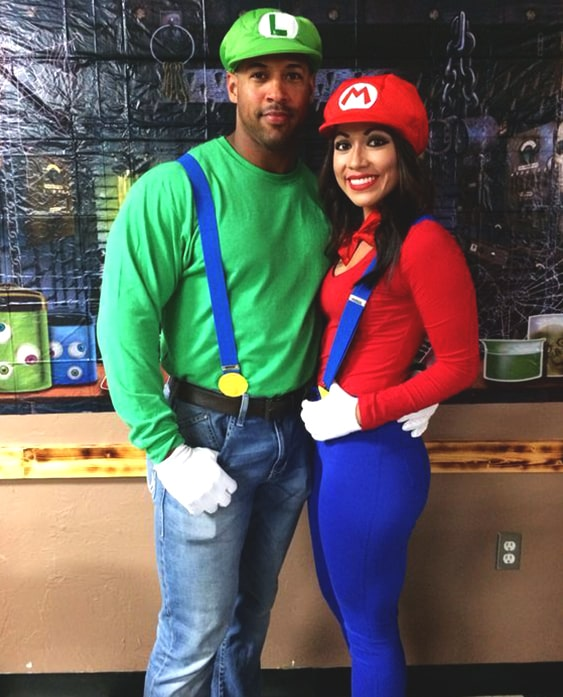 super mario couples costume ideas