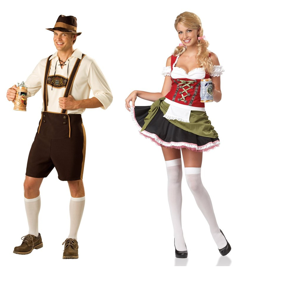 Bavarians Couples Costumes Halloween