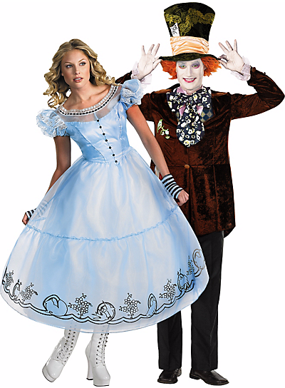 Halloween Couples Costumes Ideas Alice in Wonderland