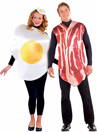 Halloween Couples Costumes Ideas Bacon Eggs
