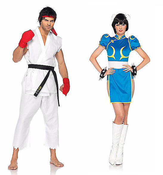 Halloween Couples Costumes Ideas Chun li Ryu