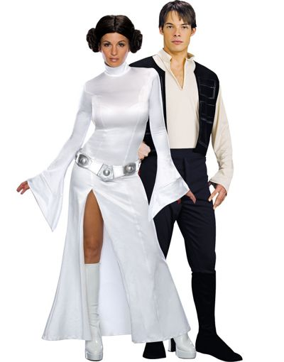 Halloween Couples Costumes Ideas Han Solo Leia