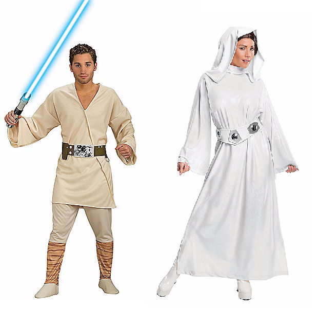 Halloween Couples Costumes Ideas Luke Leia