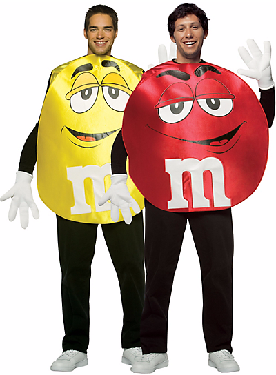 Halloween Couples Costumes Ideas M&M