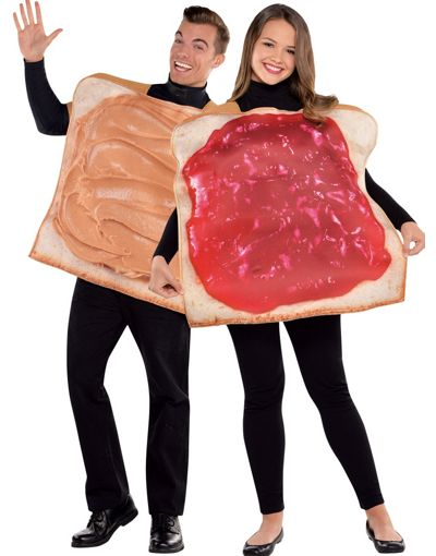 Halloween Couples Costumes Ideas Peanut Butter Jelly