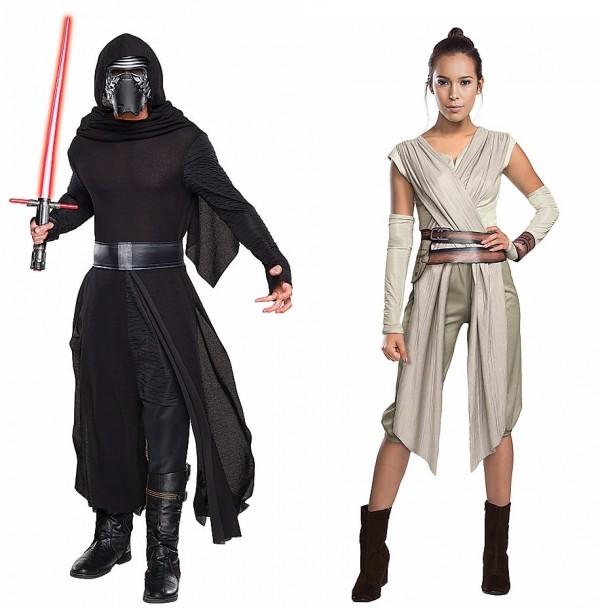 Halloween Couples Costumes Ideas Rey Kilo Ren
