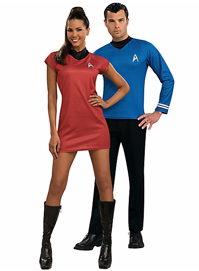 Halloween Couples Costumes Ideas Star Trek Spock and Uhura