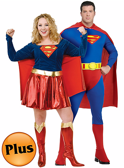 Halloween Couples Costumes Ideas Superman Supergirl