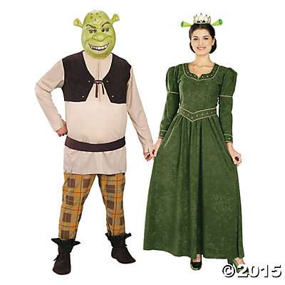 Halloween Couples Costumes shrek fiona