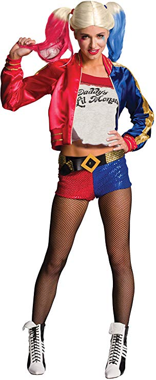 Harley Quinn Costumes Couples Halloween