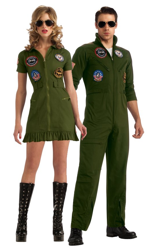 Top Gun Flight Suits Costumes