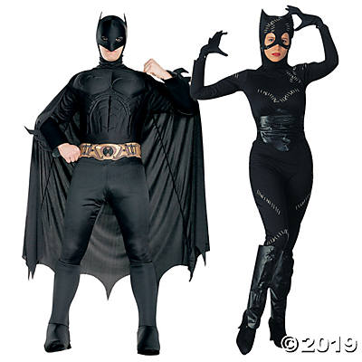 batman catwoman couples costumes halloween