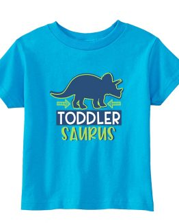 Kids T-Shirt Dinosaurus Triceratops Boy Toddler Children. Printed and delivered from USA or UK.