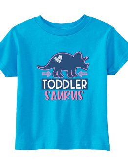 Kids T-Shirt Dinosaurus Triceratops Heart Girl Toddler Children. Printed and delivered from USA or UK.