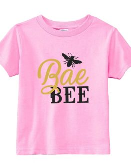 Kids T-Shirt Bae Bee Toddler Children. Printed and delivered from USA or UK.