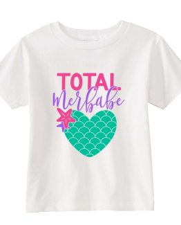 Kids T-Shirt Total Merbabe Toddler Children. Printed and delivered from USA or UK.